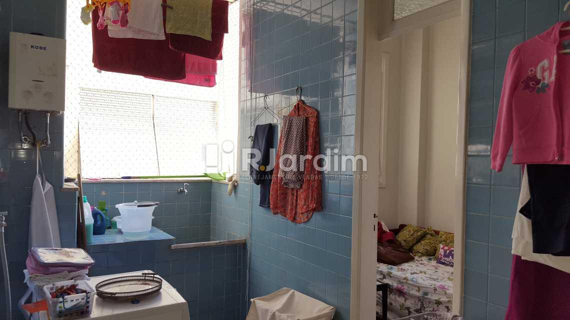 Área de serviço - Apartamento À VENDA, Copacabana, Rio de Janeiro, RJ - LAAP40458 - 18