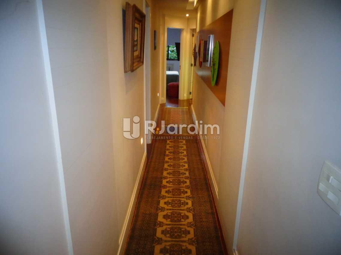 circulação - Apartamento à venda Rua Nascimento Silva,Ipanema, Zona Sul,Rio de Janeiro - R$ 3.500.000 - LAAP31055 - 13