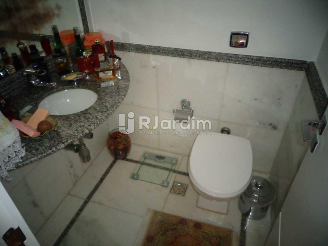 lavabo - Apartamento à venda Rua Nascimento Silva,Ipanema, Zona Sul,Rio de Janeiro - R$ 3.500.000 - LAAP31055 - 14