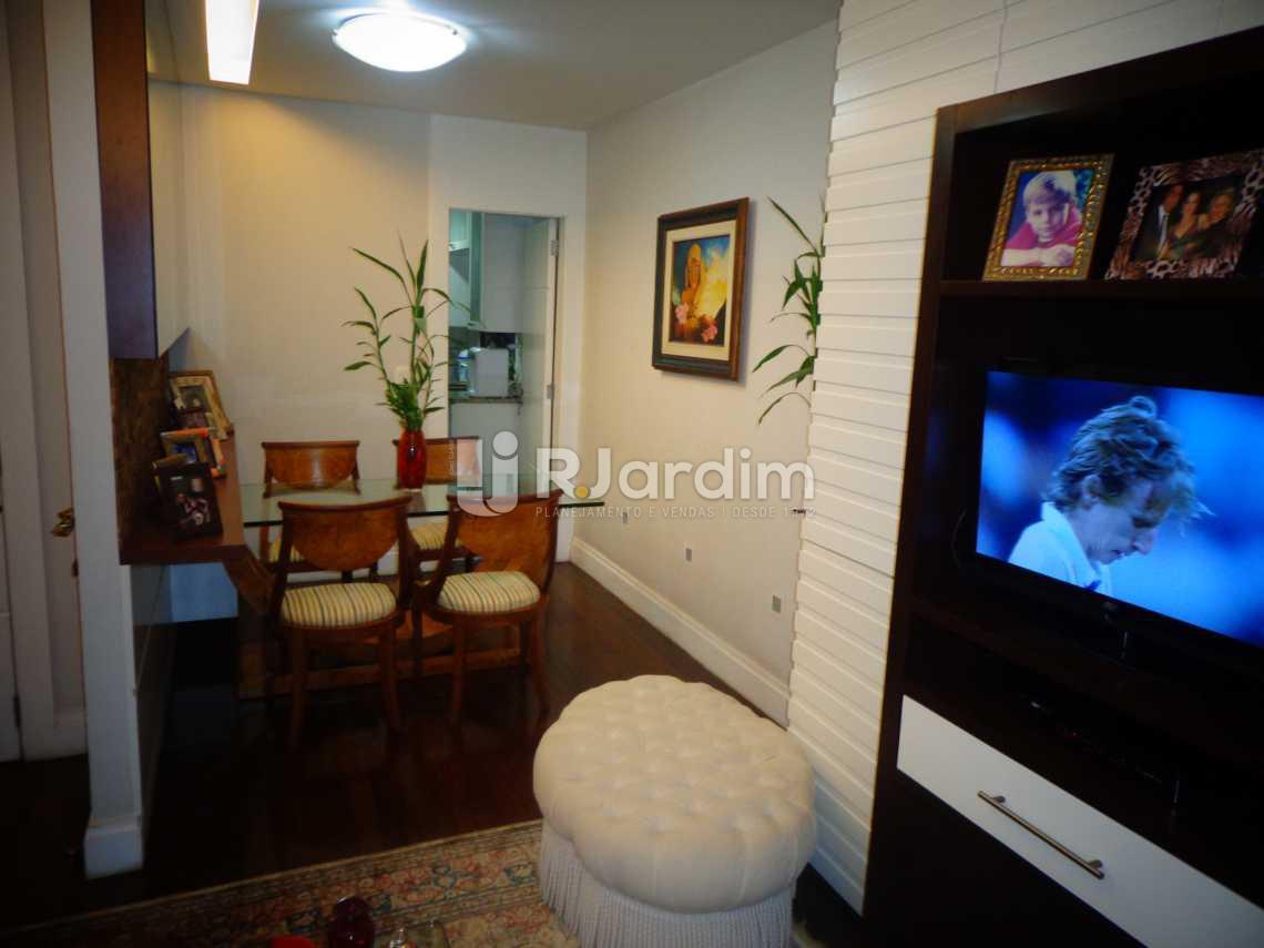 sala - Apartamento à venda Rua Nascimento Silva,Ipanema, Zona Sul,Rio de Janeiro - R$ 3.500.000 - LAAP31055 - 4