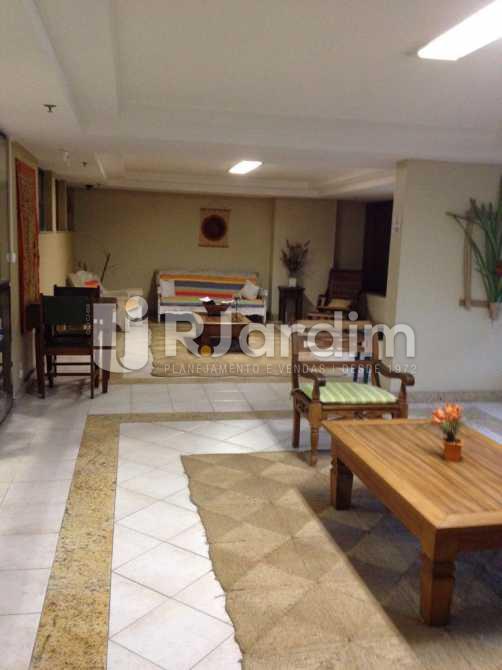 Hall social  - Apartamento Aparthotel / Residencial / 1 Quarto / Lagoa - LAAP10170 - 3