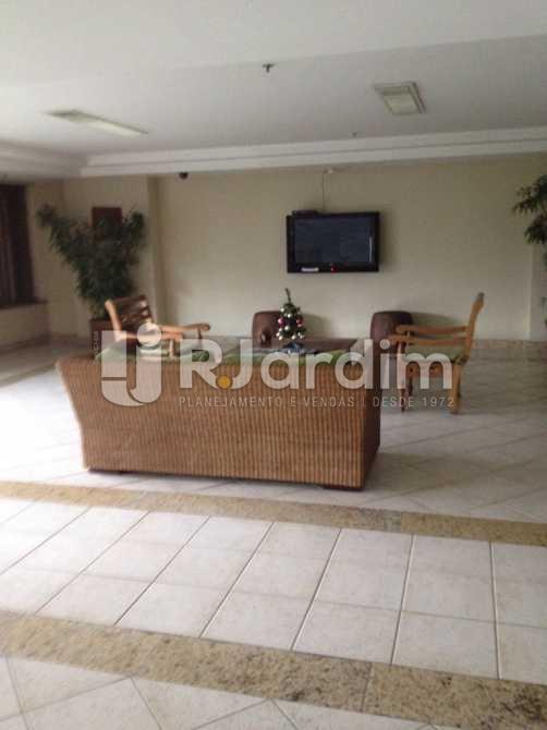 Hall social   - Apartamento Aparthotel / Residencial / 1 Quarto / Lagoa - LAAP10170 - 4