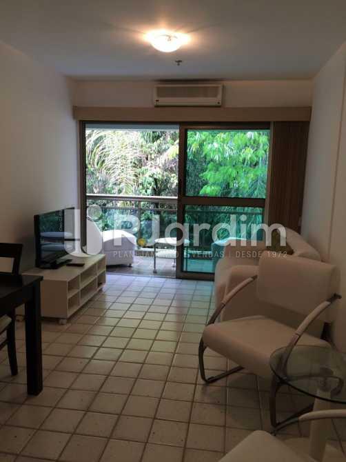 Sala   - Apartamento Aparthotel / Residencial / 1 Quarto / Lagoa - LAAP10170 - 7