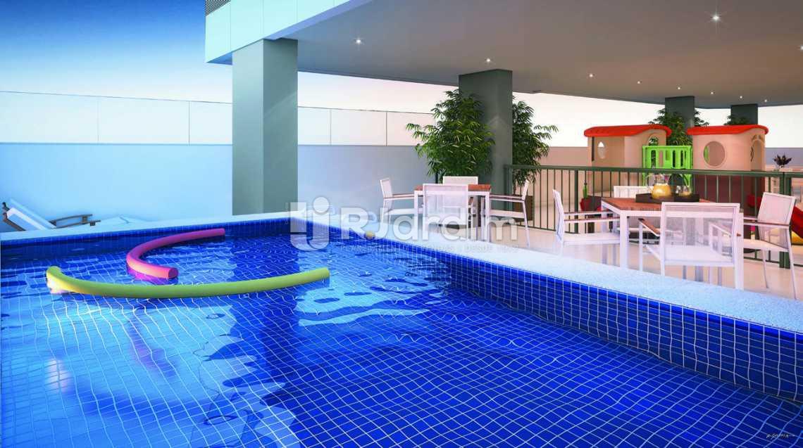 PISCINA INFANTIL - Apartamento padrão Residencial Trio Botafogo Completo - Botafogo - Rio de Janeiro - RJ - LAAP31069 - 4
