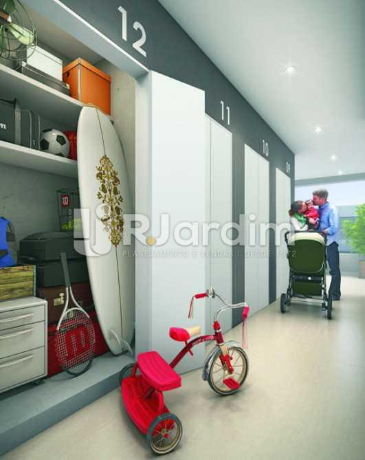 SELFSTORAGE - Apartamento padrão Residencial Trio Botafogo Completo - Botafogo - Rio de Janeiro - RJ - LAAP31069 - 9