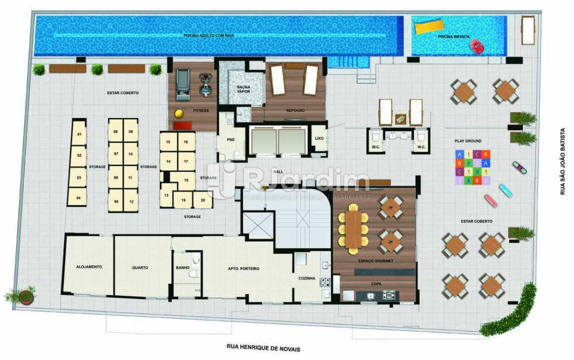 MASTERPLAN - Apartamento padrão Residencial Trio Botafogo Completo - Botafogo - Rio de Janeiro - RJ - LAAP31069 - 10