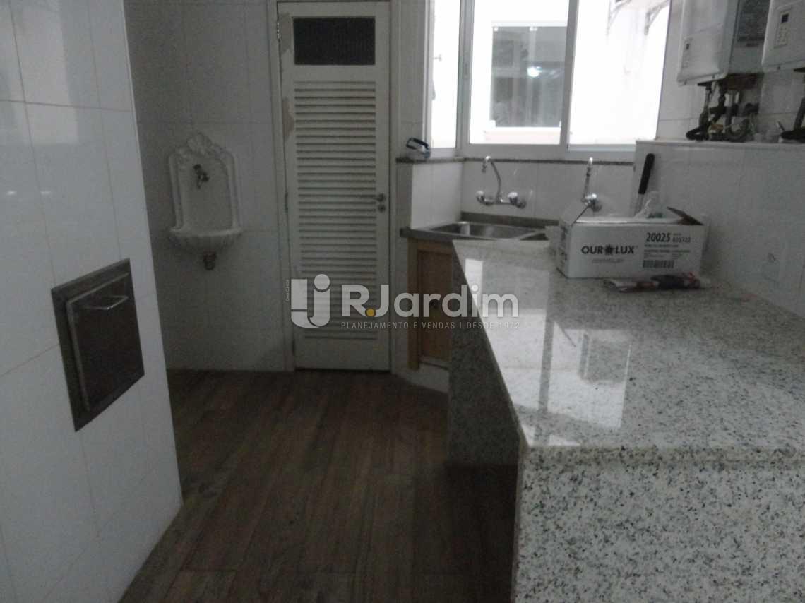 Cozinha - Apartamento Leblon 4 Quartos Aluguel - LAAP40472 - 20