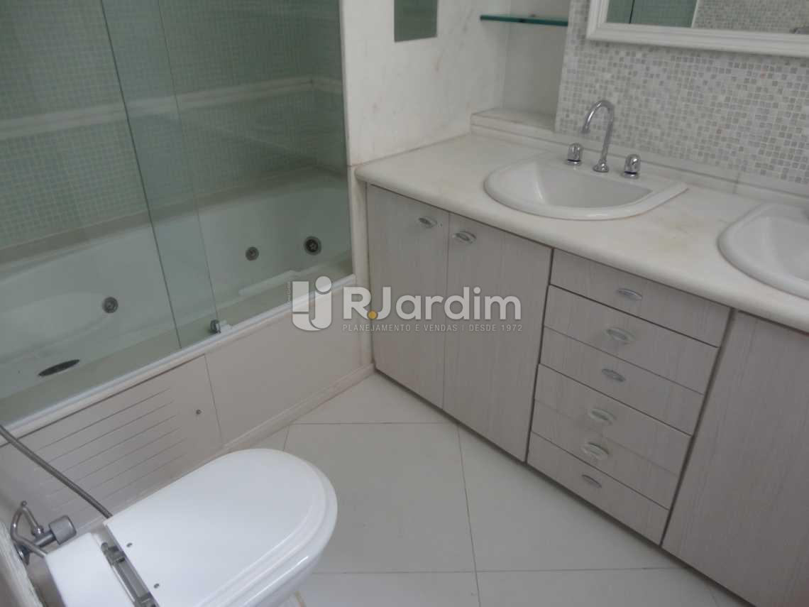 Banheiro da suíte - Apartamento Leblon 4 Quartos Aluguel - LAAP40472 - 23