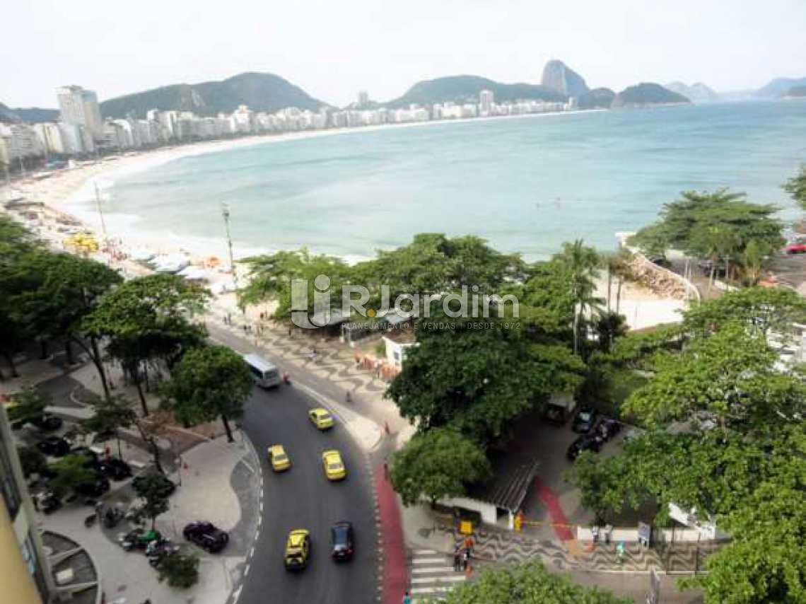 vista praia / lado direito - Apartamento 2 Quartos Para Alugar Copacabana, Zona Sul,Rio de Janeiro - R$ 10.000 - LAAP20767 - 1