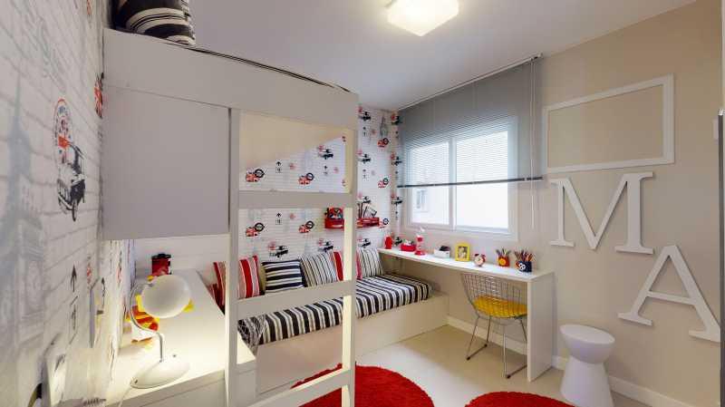 vilabelavilaisabelrjardim 2 - Apartamento 2 Quartos À Venda Vila Isabel, Zona Norte - Grande Tijuca,Rio de Janeiro - R$ 362.700 - LAAP20784 - 3