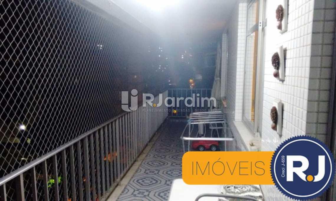 VARANDA - Apartamento Padrão / Residencial / 3 Quartos / Compra e venda / Grajaú / Zona Norte / Rio de Janeiro RJ - LAAP31102 - 4