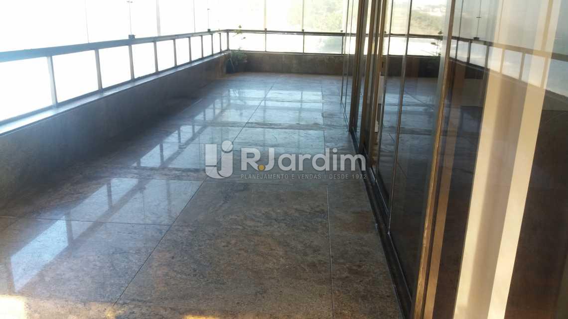 Varandão - Apartamento Suites Aluguel São Conrado Praia Lazer Zona Sul Rio de Janeiro RJ - LAAP50032 - 4