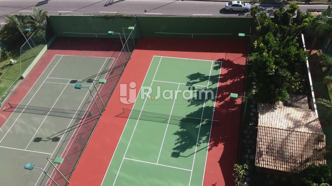 Quadras de tênis - Apartamento Suites Aluguel São Conrado Praia Lazer Zona Sul Rio de Janeiro RJ - LAAP50032 - 21