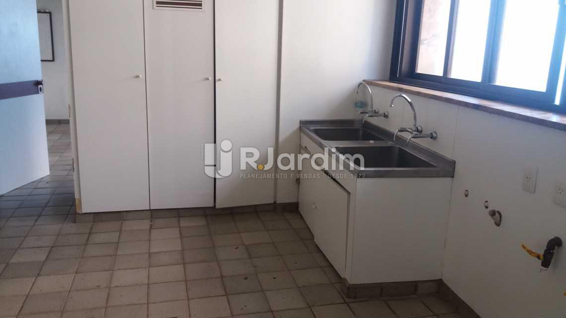 Área de serviço - Apartamento Suites Aluguel São Conrado Praia Lazer Zona Sul Rio de Janeiro RJ - LAAP50032 - 30