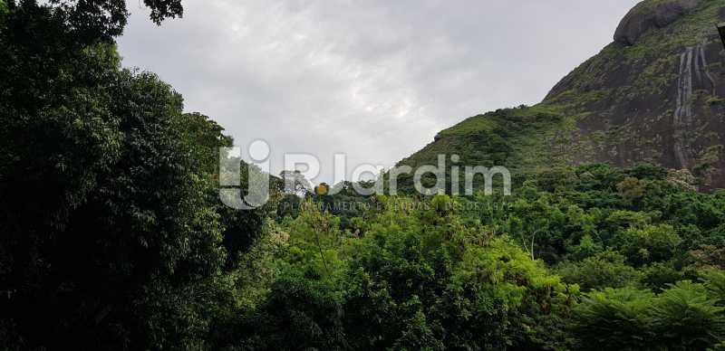 vista/ varanda  - Belíssimo apartamento, Lagoa, voltado para o verde. - LAAP10179 - 7