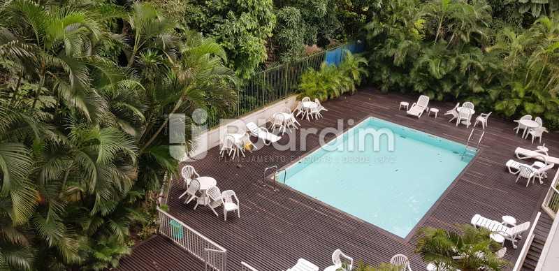 piscina / adultos - Belíssimo apartamento, Lagoa, voltado para o verde. - LAAP10179 - 13