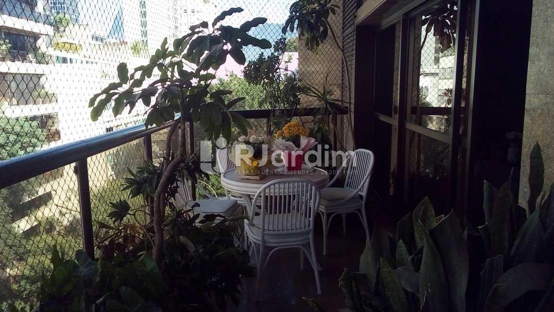 varanda - Apartamento 4 quartos à venda Ipanema, Zona Sul,Rio de Janeiro - R$ 9.500.000 - LAAP40490 - 1