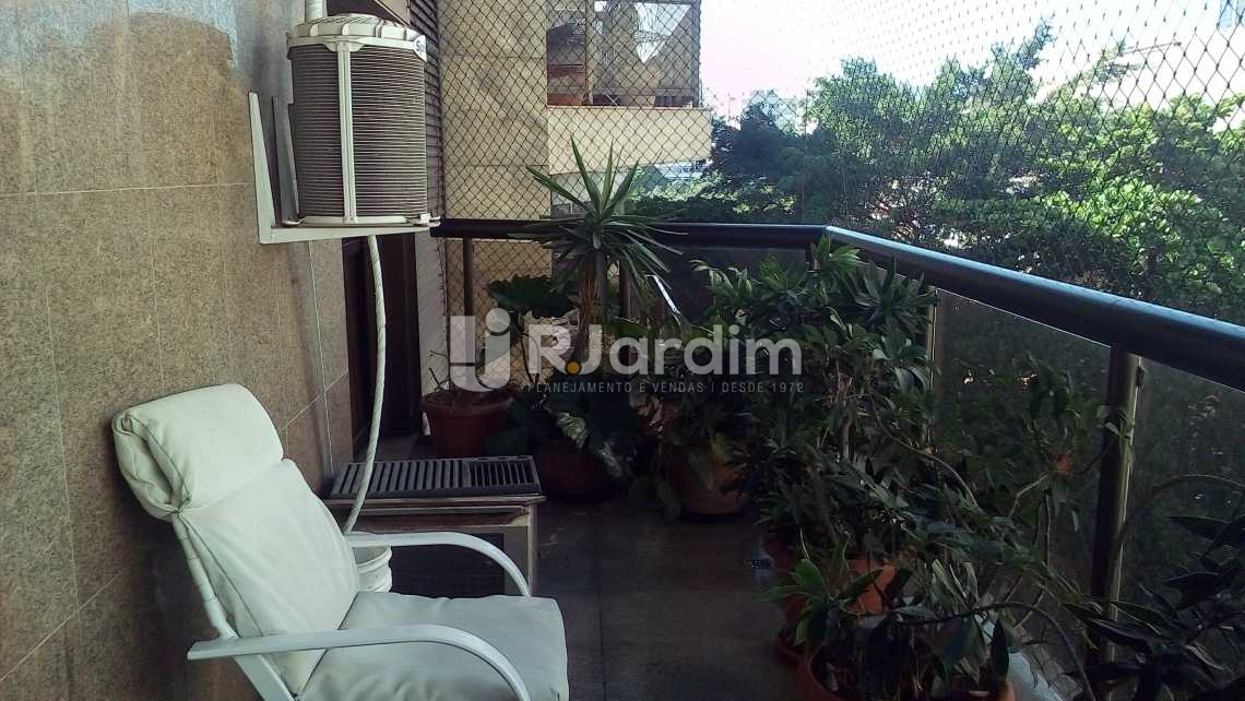 varanda - Apartamento 4 quartos à venda Ipanema, Zona Sul,Rio de Janeiro - R$ 9.500.000 - LAAP40490 - 3