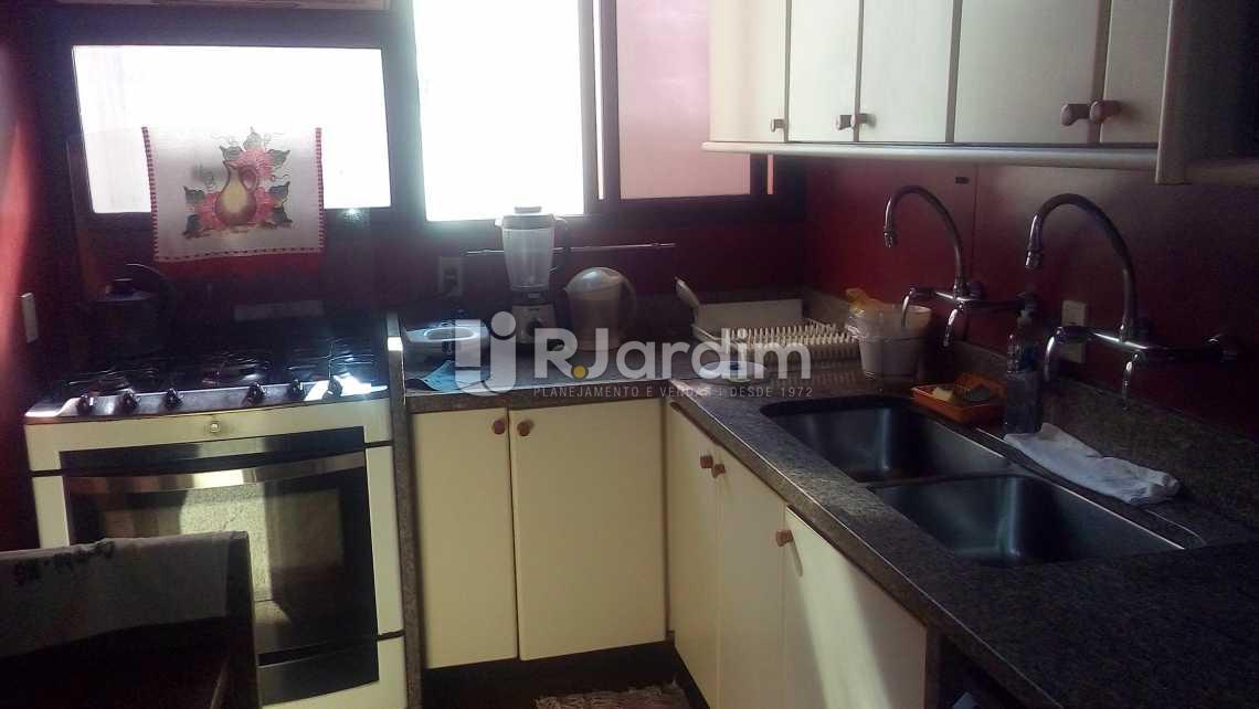 cozinha - Apartamento À VENDA, Ipanema, Rio de Janeiro, RJ - LAAP40490 - 24