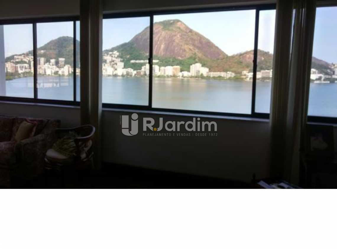 sala - Imóveis Compra Venda Avaliação Apartamento Lagoa 4 Quartos - LAAP40497 - 3