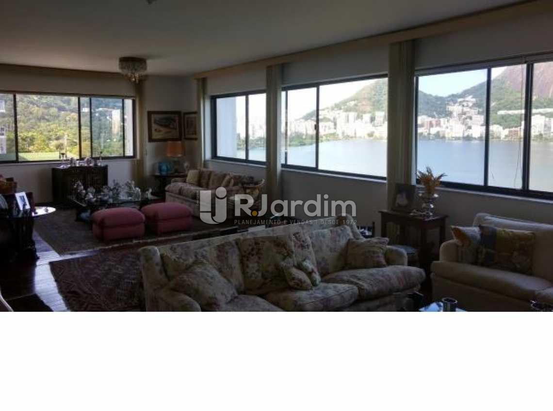 sala - Imóveis Compra Venda Avaliação Apartamento Lagoa 4 Quartos - LAAP40497 - 4