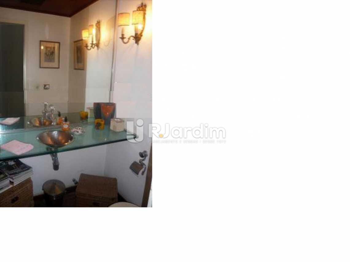 lavabo - Imóveis Compra Venda Avaliação Apartamento Lagoa 4 Quartos - LAAP40497 - 13