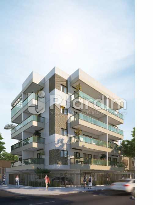 FACHADA - Apartamento À VENDA, Maracanã, Rio de Janeiro, RJ - LAAP20842 - 3