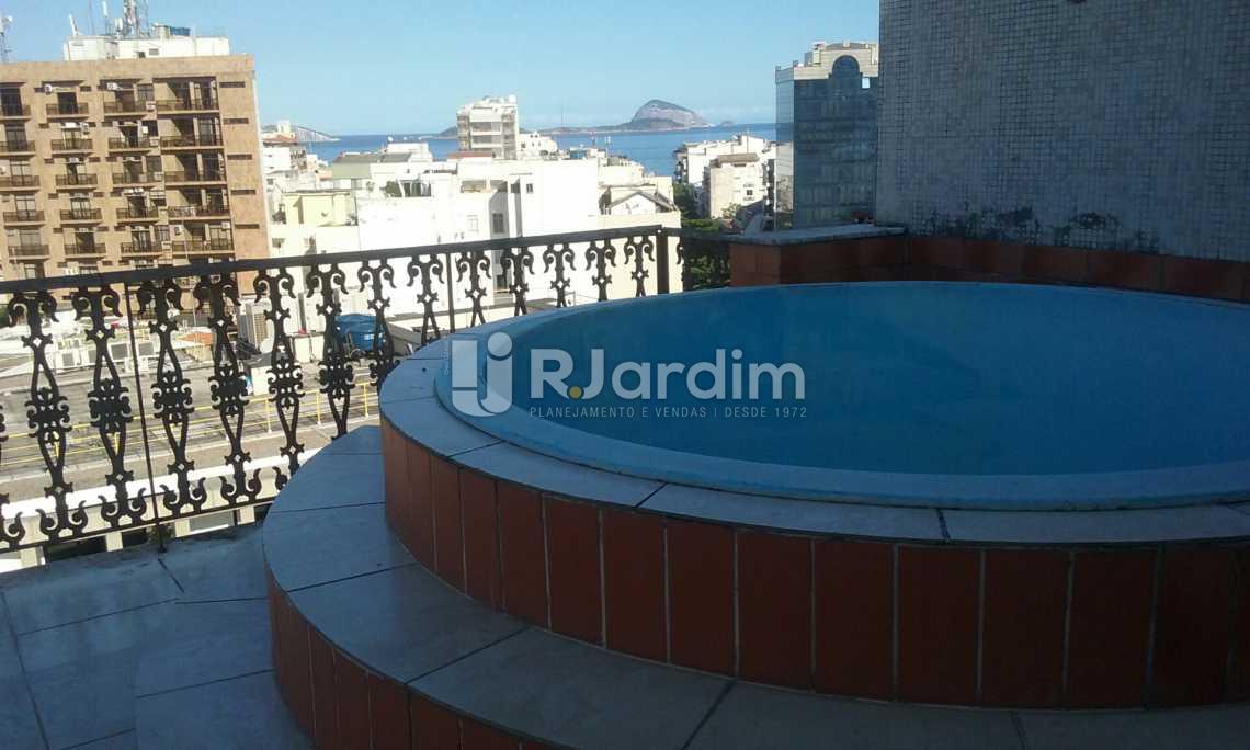 vista mar  - Cobertura Leblon, Zona Sul,Rio de Janeiro, RJ À Venda, 2 Quartos, 149m² - LACO20097 - 1