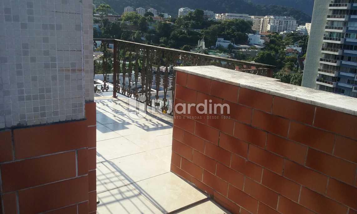 terraço  - Cobertura Leblon, Zona Sul,Rio de Janeiro, RJ À Venda, 2 Quartos, 149m² - LACO20097 - 21