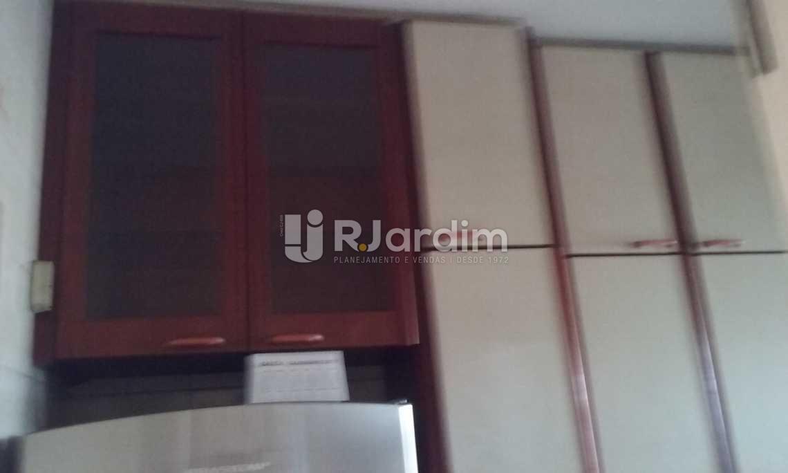 cozinha - Cobertura Leblon, Zona Sul,Rio de Janeiro, RJ À Venda, 2 Quartos, 149m² - LACO20097 - 14