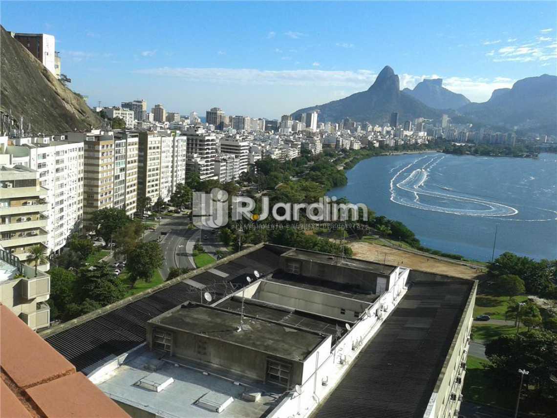 vISTÃO OBRERTURA - Imóveis Aluguel Lagoa Cobertura 3 Quartos - LACO30164 - 4