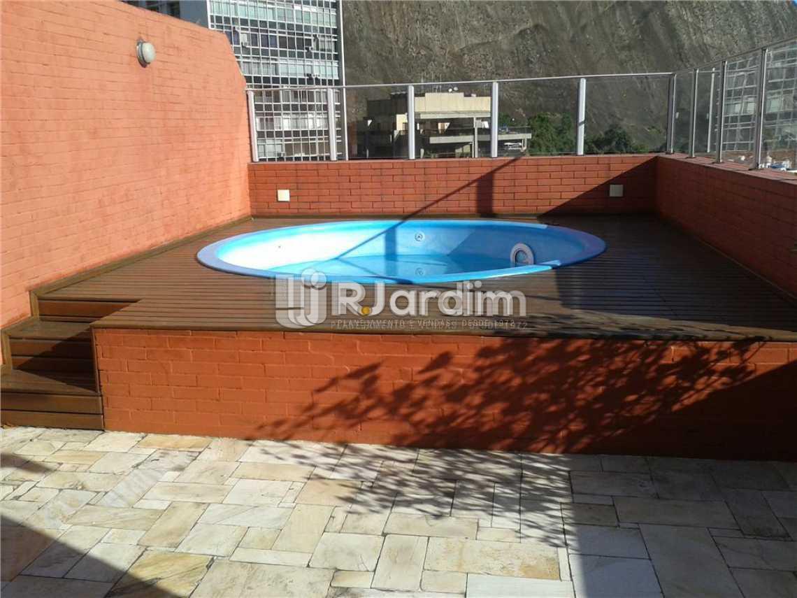Piscina - Imóveis Aluguel Lagoa Cobertura 3 Quartos - LACO30164 - 8