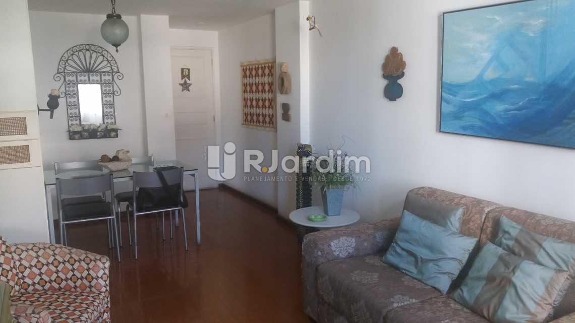 Sala - Apartamento À VENDA, Lagoa, Rio de Janeiro, RJ - LAAP20854 - 3