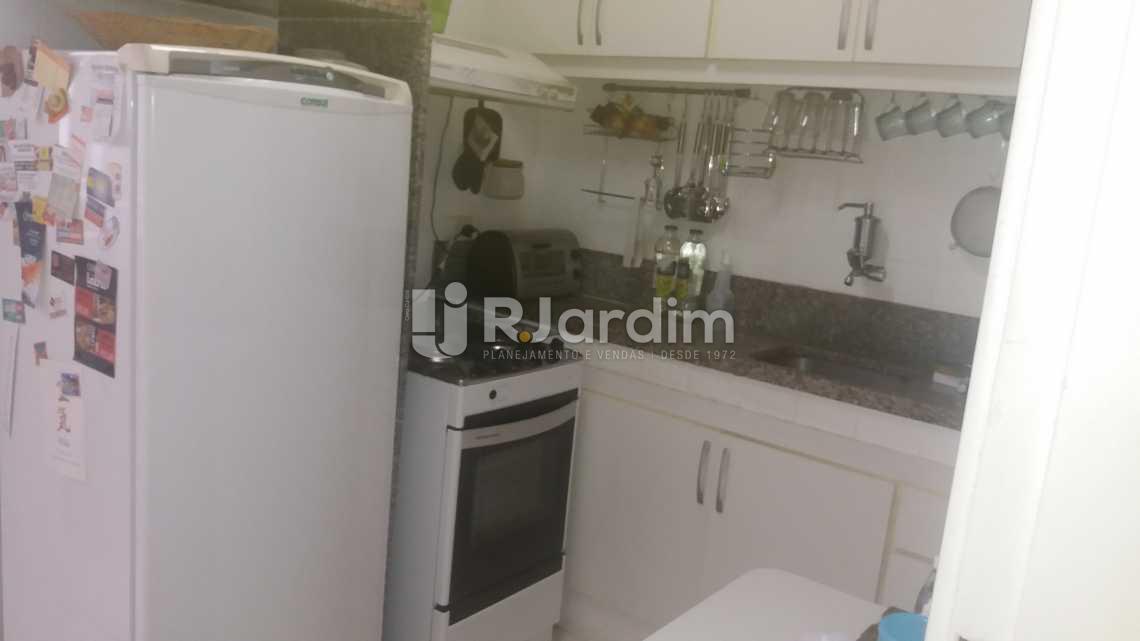 Cozinha - Apartamento À VENDA, Lagoa, Rio de Janeiro, RJ - LAAP20854 - 16