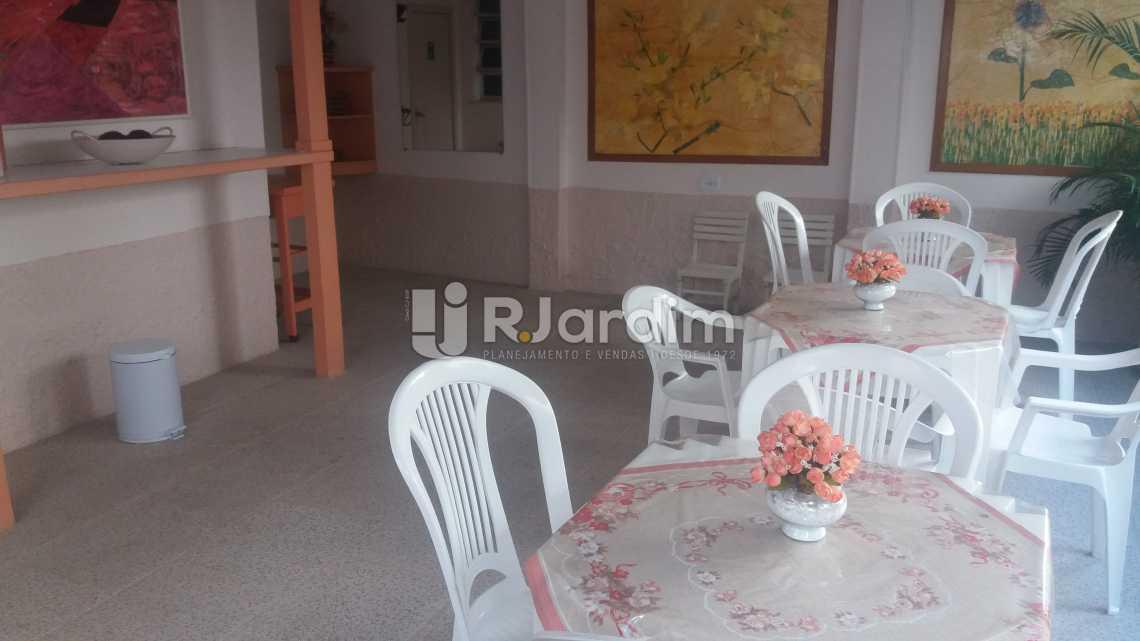 Salão festas - Apartamento À VENDA, Copacabana, Rio de Janeiro, RJ - LAAP20858 - 19