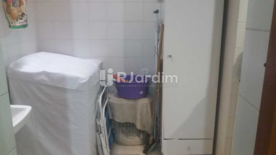 Área serviço - Apartamento À VENDA, Copacabana, Rio de Janeiro, RJ - LAAP20858 - 14