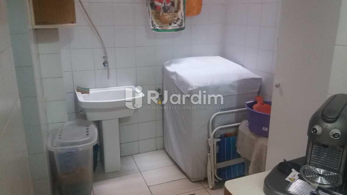 Área serviço - Apartamento À VENDA, Copacabana, Rio de Janeiro, RJ - LAAP20858 - 15