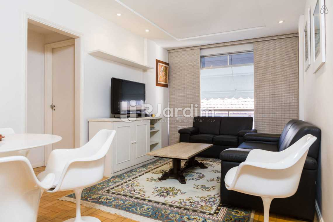 sl estar - Apartamento Leblon, Zona Sul,Rio de Janeiro, RJ Para Alugar, 2 Quartos, 80m² - LAAP20859 - 1