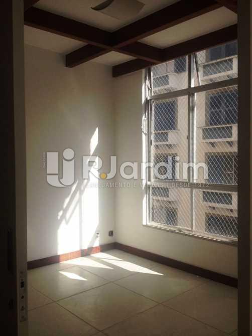 Primeiro quarto - Apartamento 3 quartos à venda Lagoa, Zona Sul,Rio de Janeiro - R$ 1.650.000 - LAAP31173 - 5