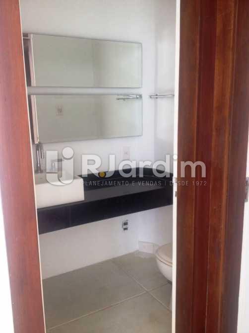 Lavabo - Apartamento 3 quartos à venda Lagoa, Zona Sul,Rio de Janeiro - R$ 1.650.000 - LAAP31173 - 6