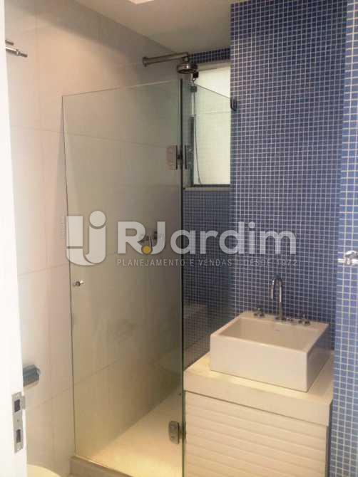 Banheiro Social - Apartamento 3 quartos à venda Lagoa, Zona Sul,Rio de Janeiro - R$ 1.650.000 - LAAP31173 - 8