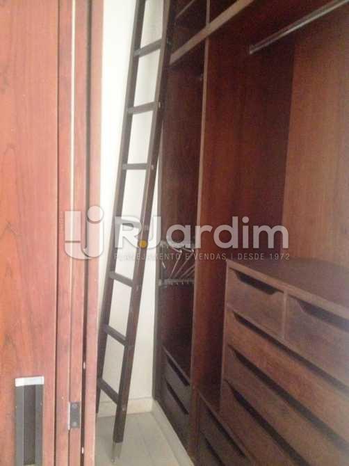 Closet  da suíte - Apartamento 3 quartos à venda Lagoa, Zona Sul,Rio de Janeiro - R$ 1.650.000 - LAAP31173 - 14