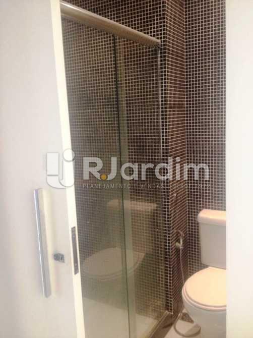 Banheiro da Suíte - Apartamento 3 quartos à venda Lagoa, Zona Sul,Rio de Janeiro - R$ 1.650.000 - LAAP31173 - 19