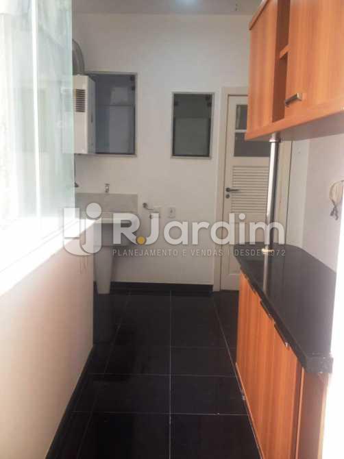 Área de serviço - Apartamento 3 quartos à venda Lagoa, Zona Sul,Rio de Janeiro - R$ 1.650.000 - LAAP31173 - 21