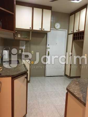Cozinha ampla - Apartamento À VENDA, Leblon, Rio de Janeiro, RJ - LAAP31179 - 21