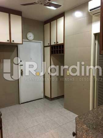 Cozinha - Apartamento À VENDA, Leblon, Rio de Janeiro, RJ - LAAP31179 - 22