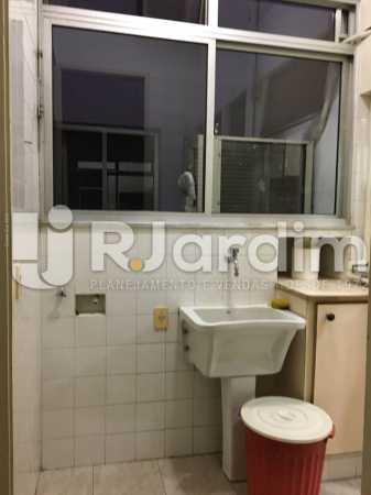 Área de serviço - Apartamento À VENDA, Leblon, Rio de Janeiro, RJ - LAAP31179 - 26