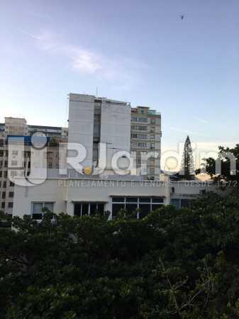 Vista sala - Apartamento À VENDA, Leblon, Rio de Janeiro, RJ - LAAP31179 - 8