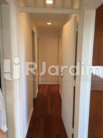 Corredor de acesso - Apartamento À VENDA, Leblon, Rio de Janeiro, RJ - LAAP31179 - 11
