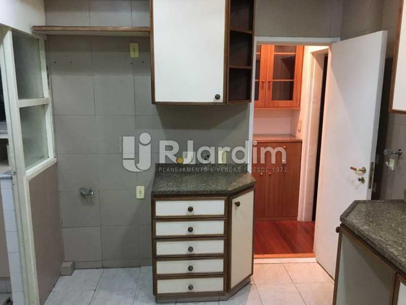 Cozinha - Apartamento À VENDA, Leblon, Rio de Janeiro, RJ - LAAP31179 - 23